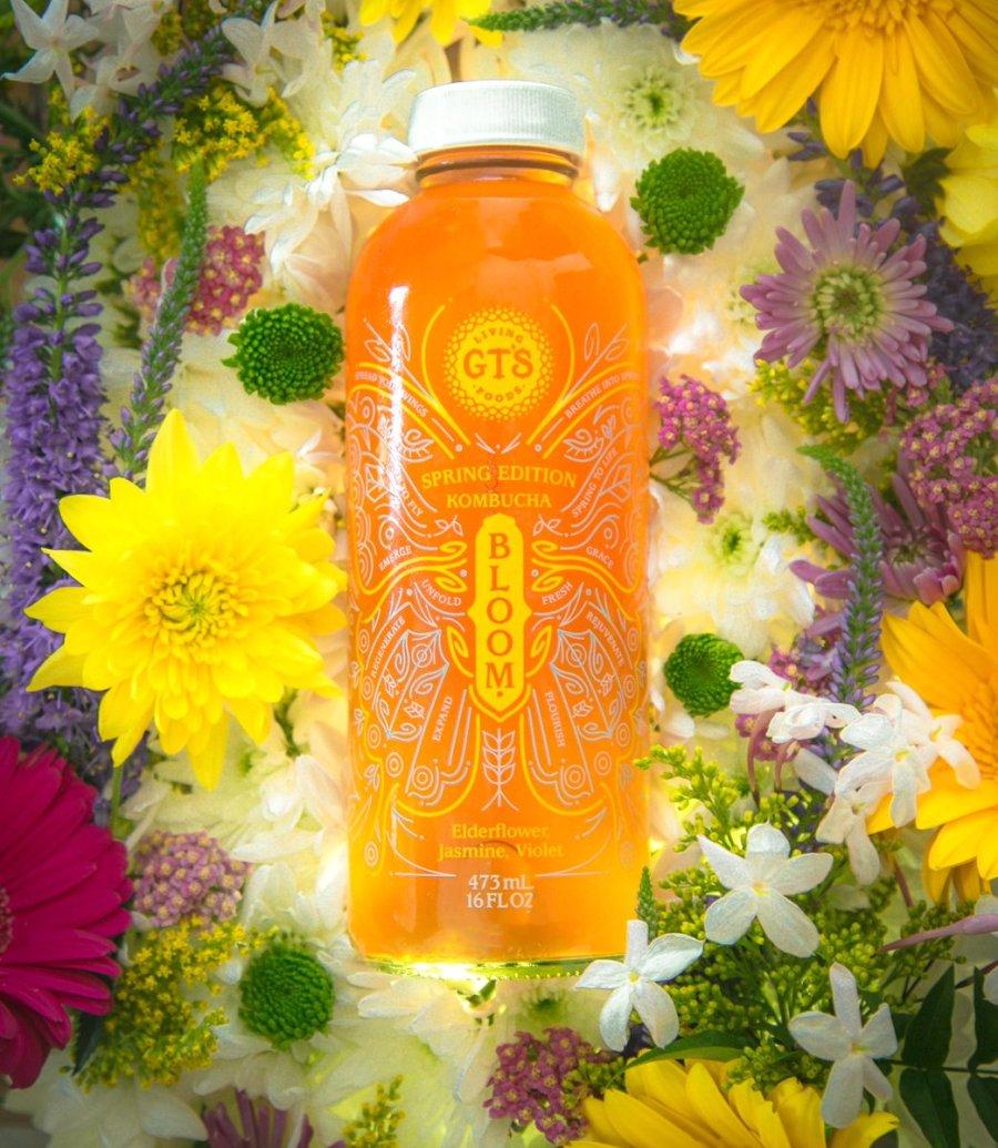 gts kombucha bloom spring